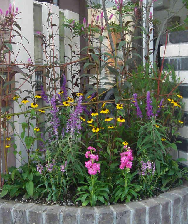 ガーデン、和風モダン